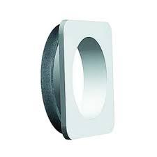 ALDES - Platine adaptation Ø 150/125 pour bouches BAP- BAP'SI et BAHIA, Transforme un Ø 150 en Ø 125 pour adapter les bouches de ventilation à une installation avec des conduits 150. - 400x400px