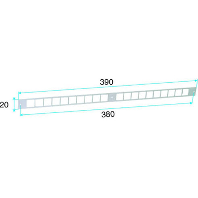 ALDES - Flasque long pour entrées d'air  - 400x400px