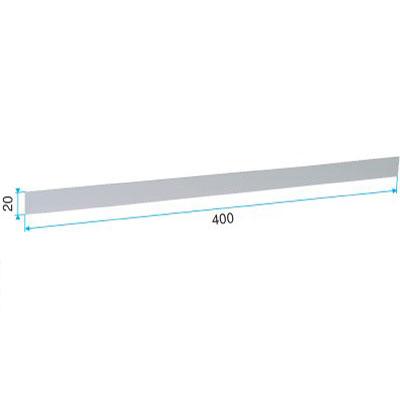 ALDES - Obturateur autocollant blanc - 400x400px