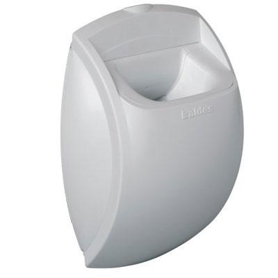 ALDES- Bouche d'extraction autoréglable BAP'SI débit d'air 45m3/h,sans fut pour sanitaires collectifs , position mur ou plafond,locaux tertiaires . - 400x400px