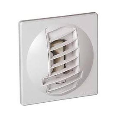 ALDES- Bouche d'extraction autoréglable BAP Color débit d'air 30m3/h,Ø 125 pour salle de bain ou WC , position mur ou plafond, pour appartement. - 400x400px