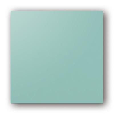 Plaque design ColorLINE couleur Bleu Lagune, pour support de plaque ColorLINE Ø80 OU Ø125. - 400x400px