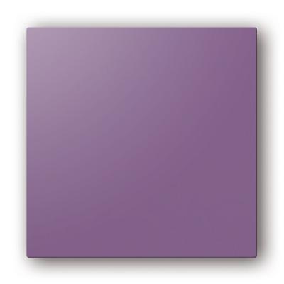 Plaque design ColorLINE couleur Prune, pour support de plaque ColorLINE Ø80 OU Ø125. - 400x400px