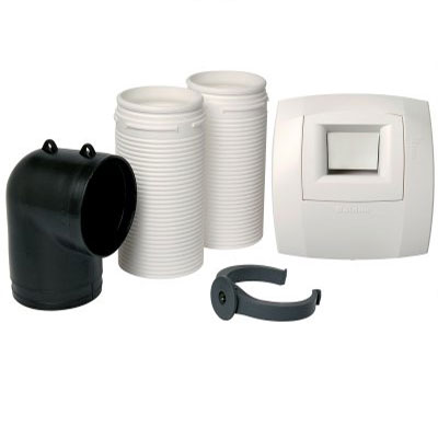 ALDES - Kit optiflex eco Ø 80 pour cellier B11 DF HYG - 400x400px