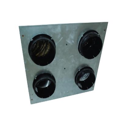 ALDES - Nourrice passage plafond pour Dee fly Cube 300 et 370. Protège les conduits de ventilation pour la traversée de plafond - 400x400px