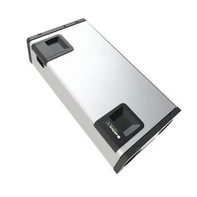 ALDES - Centrale VMC double flux et purificateur d'air, INSPIRAIR HOME 370 Classic droite. Garantie 2 ans. Maison jusqu'à 250 m2 - 400x400px