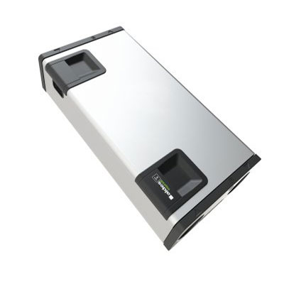ALDES - Centrale VMC double flux et purificateur d'air INSPIRAIR HOME 370 Classic gauche. Garantie 2 ans. Maison jusqu'à 250 m2 - 400x400px