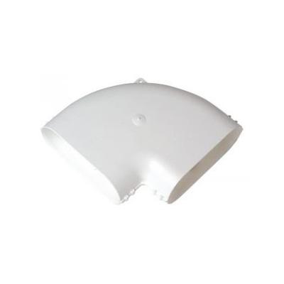 ALDES - Coude horizontal 90° 60x200 - 400x400px