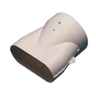 ALDES - Raccord mixte 40x100 pour bouche Ø 80 - 400x400px