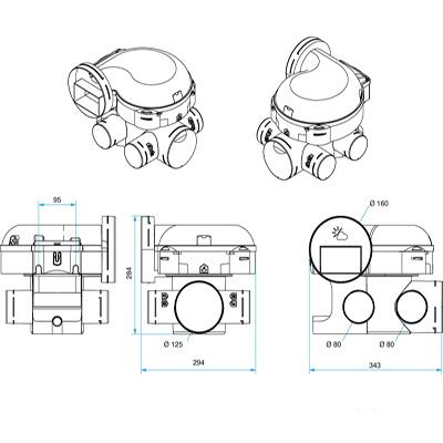 ALDES-Groupe seul EasyHome PureAir classic. Fonction ventilation et purification d'air,à installer en combles perdus. - 400x400px
