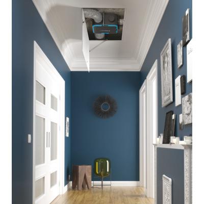 ALDES-KIT EasyHome PureAir COMPACT CLASSIC. Fonction ventilation et purification d'air pour 1 cuisine et 2 sanitaires ( bouches et manchettes inclues) extra plat installation multi-postions. - 400x400px
