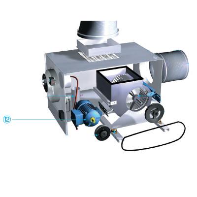 ALDES - Moteur triphasé B3 1 vitesse 4P - C4E + câble silicone - 400x400px