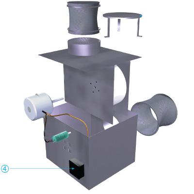 ALDES - Boitier electrique de raccordement VEC - 400x400px