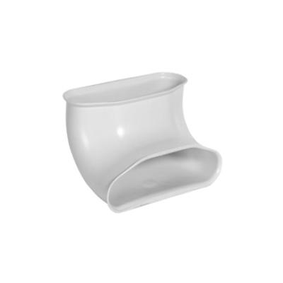 ALDES - Coude ovale optiflex antibac 90° vertical - 400x400px