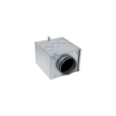 ALDES - Optiflex Caisson métal 5 P D 160 - 400x400px