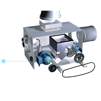 ALDES - Moteur + cable silicone pour VEC 452A - 400x400px
