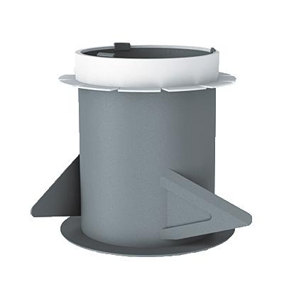 KIT HYDRA ECOWATT : Groupe de ventilation Hygroréglable moteur basse consommation 5,3 W-Th-C.Pour  VMC hygro A ou B . Garanti 5 ans  Bouche hygro cuisine à piles, WC détection de présence, bain hygro .   - 400x400px