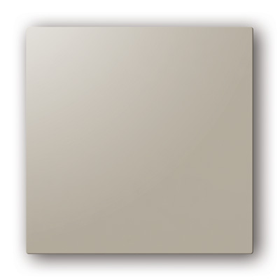 Plaque design ColorLINE couleur Taupe, pour support de plaque ColorLINE Ø80 OU Ø125. - 400x400px