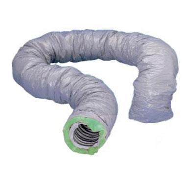 Unelvent - Gaine PVC Ø 150 isolée 50 mm L=6m zéro phtalate GP ISO ECOSOFT   150/50 - 400x400px