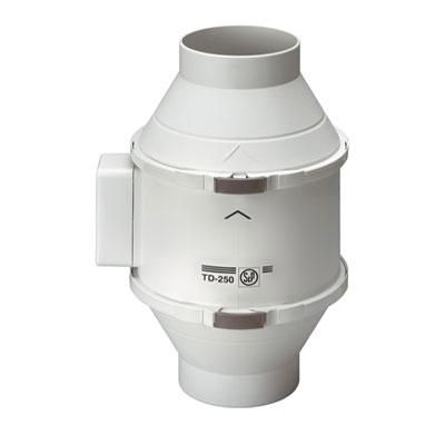 Moteur de ventilation MIXVENT TD 350/125 ECOWATT Unelvent basse consommation pour hotte de cuisine non motorisée - Garantie 5 ans - UNELVENT 250004 150x150px