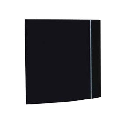 Aérateur Silent Design 100 CZ Black 8W, 85 m3/h avec clapet anti-retour - UNELVENT 403520 150x150px