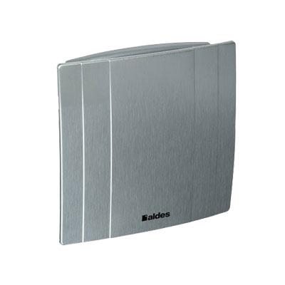 ALDES - Aérateur Déco couleur alu Ø 125 mm cde par inter M/A - ALDES 11022321 150x150px