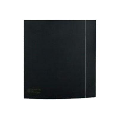 Unelvent - Kit facade Silent 100 CZ black design composé de la façade plus la contre façade pour habiller l'aérateur Silent 100 - UNELVENT 890039 150x150px