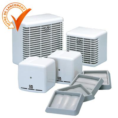VORTICE-VRA 1530 Ventilation mécanique répartie       VMC décentralisée pour salle de bain ou WC.  150x150px
