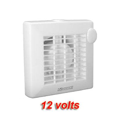 VORTICE-extracteur individuel PUNTO 12 Volts Ø100mm pour salle de bain ou WC. Débit d'air maxi 90 m3/h   prévoir transformateur 230/12V. 150x150px