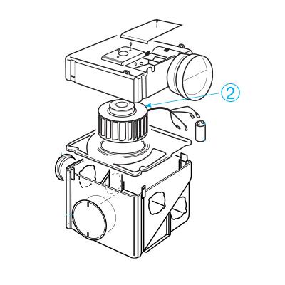 ALDES - Mototurbine+condensateurs pour Groupe VMC VMP K  150x150px