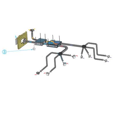 ALDES - Commande Dee Fly Micro-watt haute efficacité hygro 150x150px