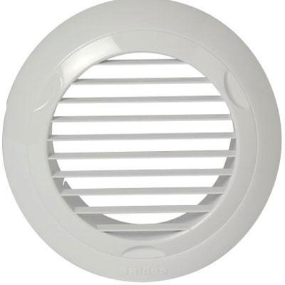 ALDES - Bouche BIP Ø125 en plastique. Aspiration d'air en VMC - ALDES 11022078 150x150px
