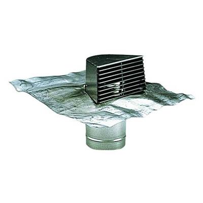 ALDES - Sortie chatière grise + plaque de plomb 150x150px