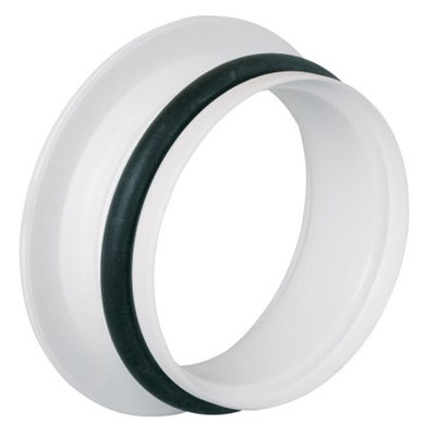 ALDES - Fut Ø 116 pour bouches BAP'SI, BAP'SI twin, Bahia curve  sans fut . Permet un raccordement  sur des conduits de ventilation Ø 116 mm. - ALDES 11019024 150x150px