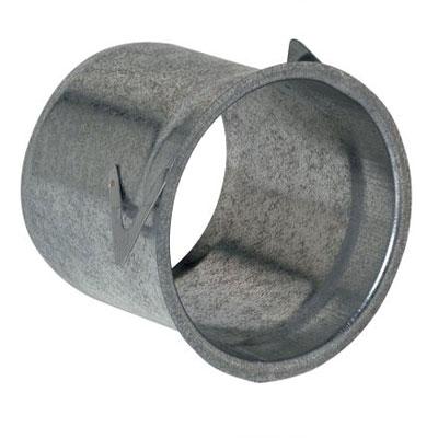 ALDES - Manchette tole à épaulement Ø125 H 125 - ALDES 11012252 150x150px