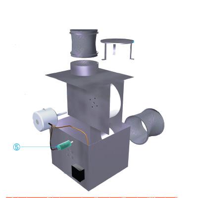 ALDES - Condensateur 4µf pour CVEC 750 et 1500 - ALDES 11086064 150x150px