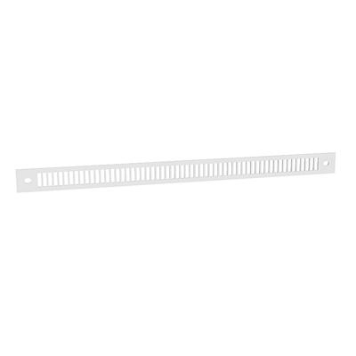 Anjos - Grille de façade en aluminium blanche GAVM BL 150x150px
