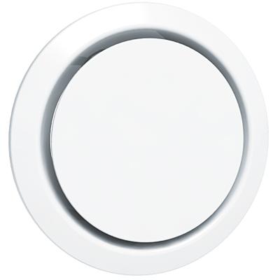 ANJOS - Bouche BEIP Ø200 mm. S'utilise avec une manchette de raccordement, un manchon placo 3 griffes ou un manchon dalle métallique 150x150px