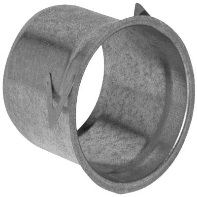 Manchette metal Ø 80 mm H 100 mm pour montage placo  bouche Aldes SR 135  - ALDES 11053970 150x150px