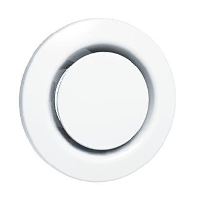 ANJOS - Bouche BEIP Ø100 mm. S'utilise soit avec une manchette de raccordement, un manchon placo 3 griffes vb189 ou un manchon dalle métallique 150x150px