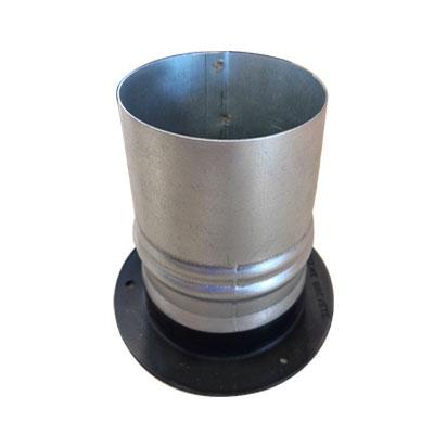 ALDES - Manchette tôle galvanisée pour bouche Aldes Ø80 mm, hauteur 100 mm - ALDES 11012490 150x150px