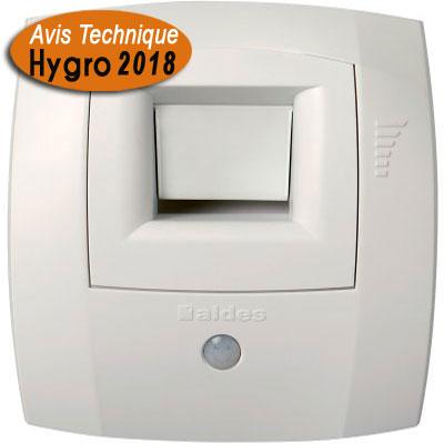 ALDES - bouche Hygro Bahia curve S WC W13 Ø 80 présence - ALDES 11015475 150x150px
