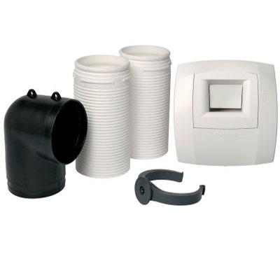 ALDES - Kit bouche hygro pour WC W13 Présence ⌀80 - ALDES 11023189 150x150px