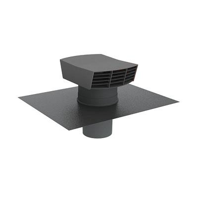 Anjos - Chapeau de toiture plastique  CTP  150  ardoise 150x150px