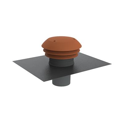 Chapeau de toiture plastique CARA 125 tuile, ANJOS 6022 150x150px