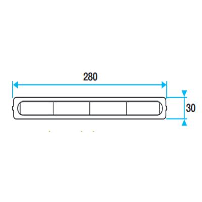 ALDES- Manchon d'étanchéité pour entrée d'air hygroréglable EHC  150x150px
