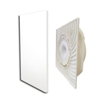 ALDES-KIT bouche COlorLINE Ø80 couleur Blanc Flocon - ALDES 11022156 150x150px