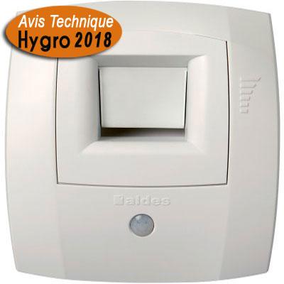 ALDES-Bouche hygroréglable Ø80 modèle BW21 pour salle de bain et WC communs. systèmes hygroréglables type A et B.   voir description produit pour type logement .   - ALDES 11015144 150x150px
