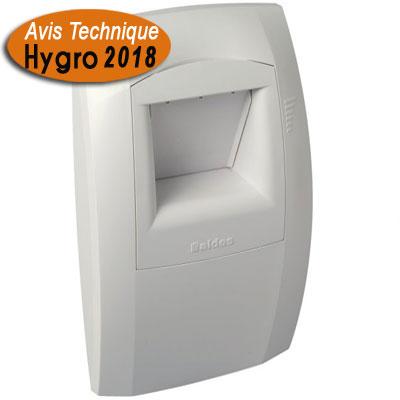 ALDES-Bouche hygroréglable Ø125 modèle C21 pour cuisine cde par pile 9V. Systèmes hygroréglables type A et B.   voir description produit pour type logement . - ALDES 11015068 150x150px