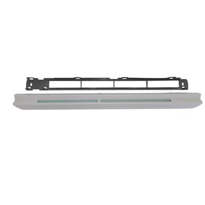 ALDES-Entrée d'air Hygroréglable EHB2 couleur grise RAL 7035. Montage en menuiserie 150x150px